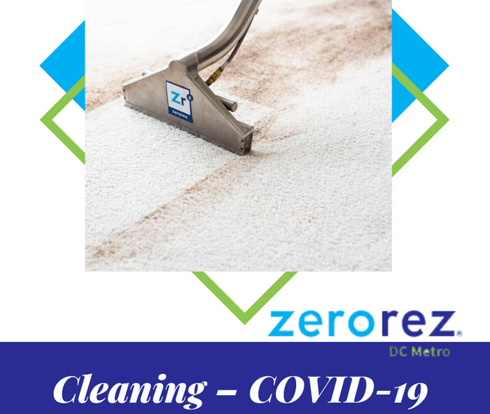 Banner of Cleaning – COVID-19 Update